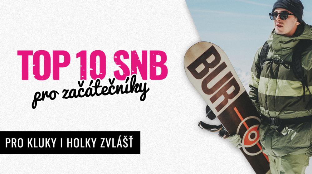 10 nejlepších snowboardů pro začátečníky