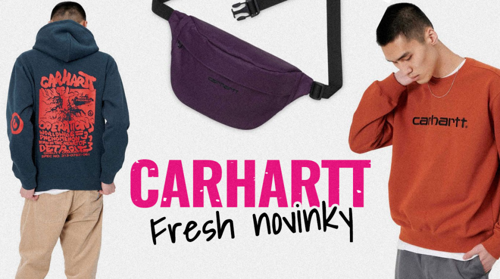 Carhartt: ovládni podzim v tom nejlepšim stylu