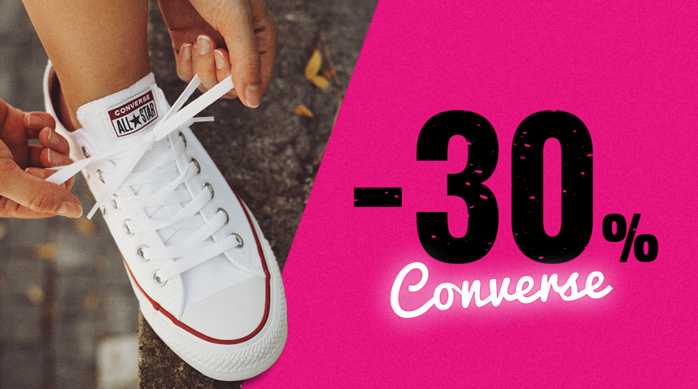 All-and-One Star akce: Sleva 30 % na všechno od Converse