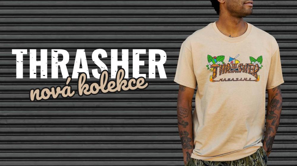 Horký zboží na skladě! Thrasher představuje nový kousky