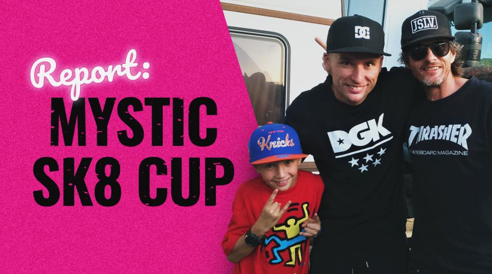 Bush se vydal na Mystic sk8 cup zjistit, jakej trik byl nejlepší