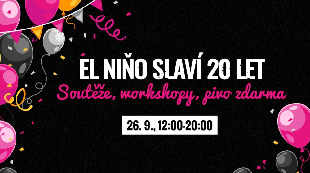 PRODLUŽUJEME Party roku v El Niňo! Soutěže, slevy a pivko zdarma až do neděle