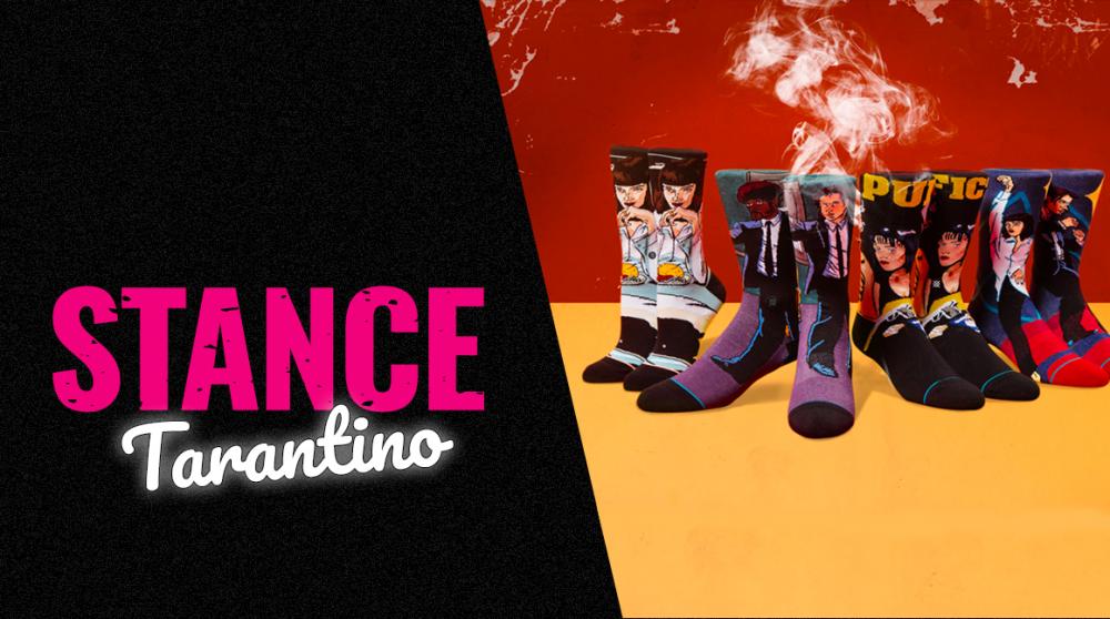 Stance X Pulp Fiction: Ponožky z podsvětí
