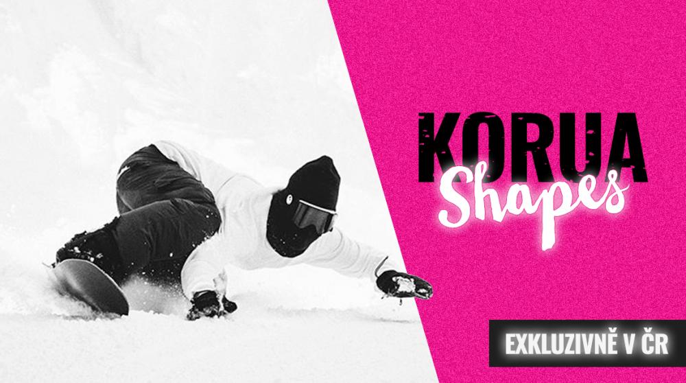 Snowboardy KORUA: Blizard z Japonska dorazil rozfoukat Krkonoše