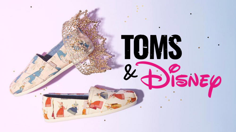 Toms X Disney: Střevíčky pro všechny princezny se srdcem na správnym místě