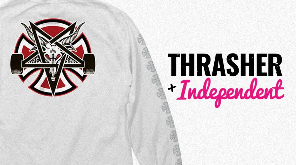 Nezávislej Skate & Destroy z pekla: Společná kolekce Independent X Thrasher