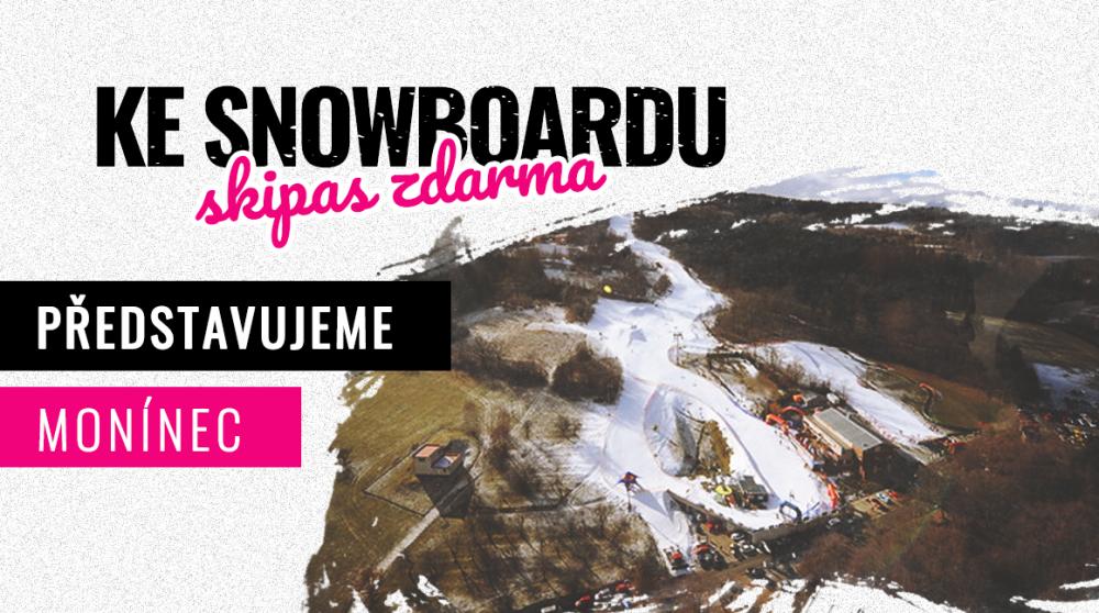 TOP 5 ski areálu Monínec – láska k Burtonu a snowtubing