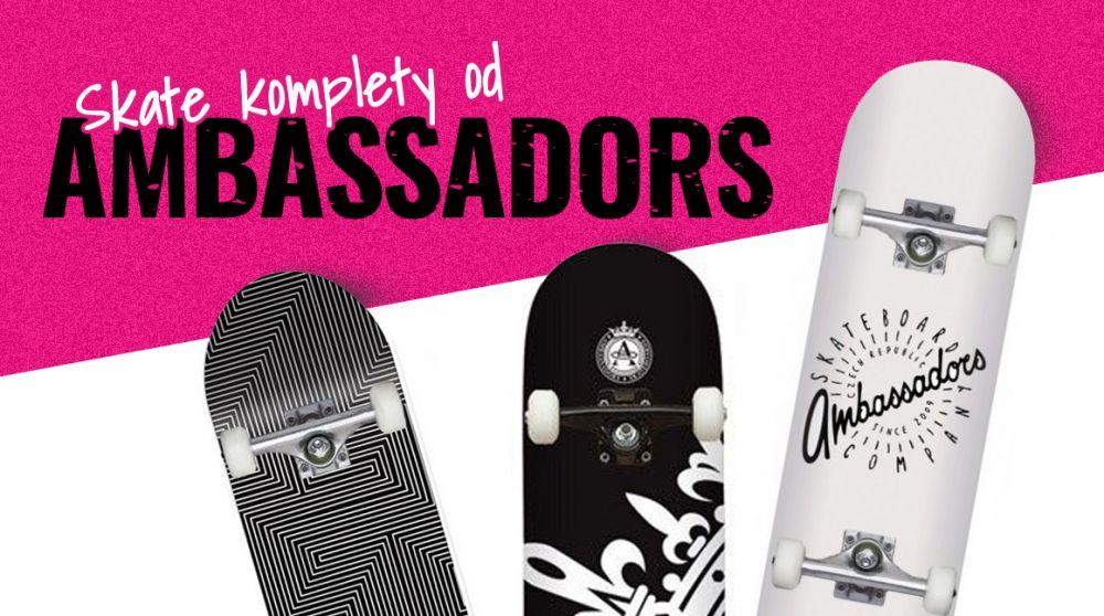 Uvnitř barevný a navrch černobílý: nový komplety od Ambassadors