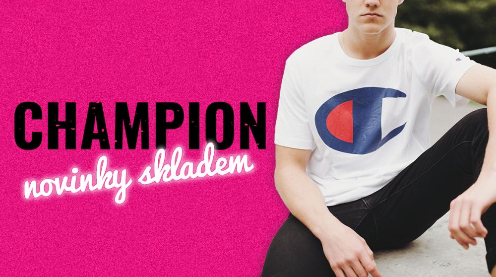 We are the Champion(s)! Máme na skladě novej brand
