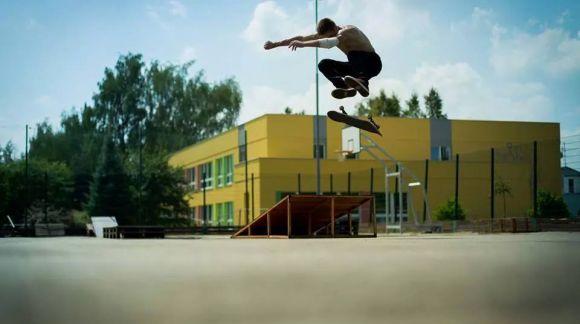 Honza Malý - skateboarding