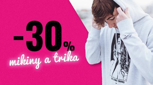 Brutální cenová sekaná z víc než 1600 triček a mikin