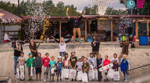 BoardStar na Dětském skate campu