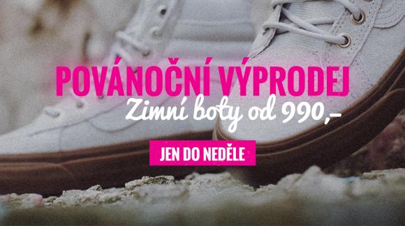 Zimní boty se žhavou cenou!