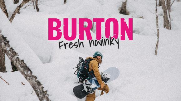 Burton útočí na svah v plný síle