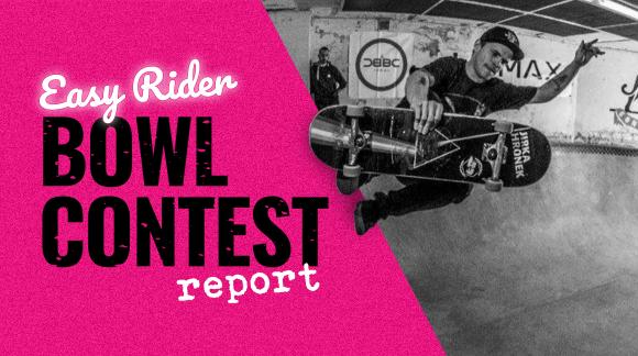 Čí skilly nejvíc zaujaly na Easy Rider Bowl Contestu?