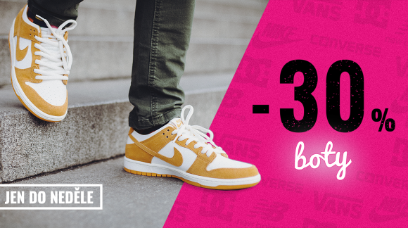 Čistíme sklady na jaro. Vyber si z 965 bot se slevou 30 %!