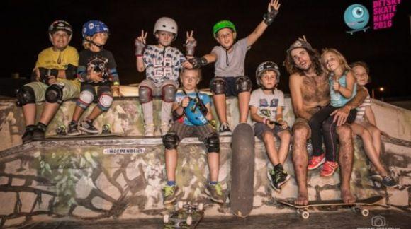 Dětský skate kemp se letos uskuteční od 20.7-23.7.