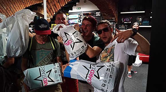 Boardstar Night Shopping vol.3 foto & video