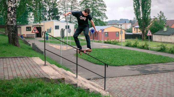 Jan Špalek - skateboarding