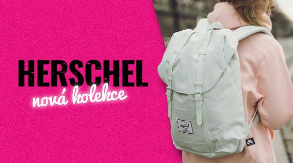 Pastva pro tvý oči, záda i boky: Přes 80 novejch Herschel batohů