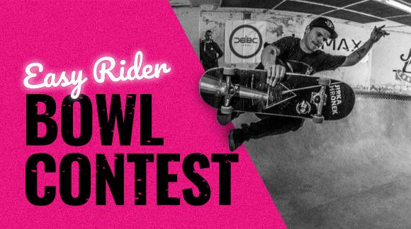Přepište dějiny! Historicky první závody od Easy Rider Skateshopu