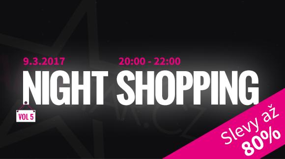 Jarní Night Shopping ve čtvrtek 9.3.2017 na Popcornu od 20:00