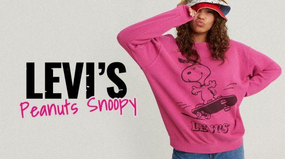 Levi's a Snoopy dobýjí svět. A vesmír taky.