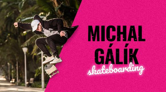 Michal Gálík – skateboarding