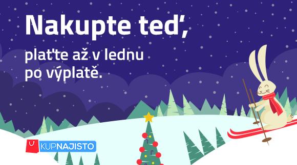 Nakupte teď, plaťte třeba až po Vánocích!