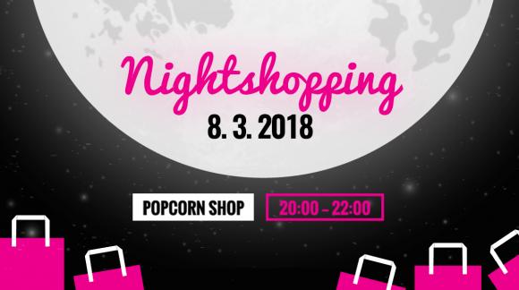 Nightshopping jede! Slevy až 80 % na večerním nákupním mejdanu