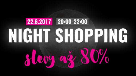 Další Night Shopping už ve čtvrtek!