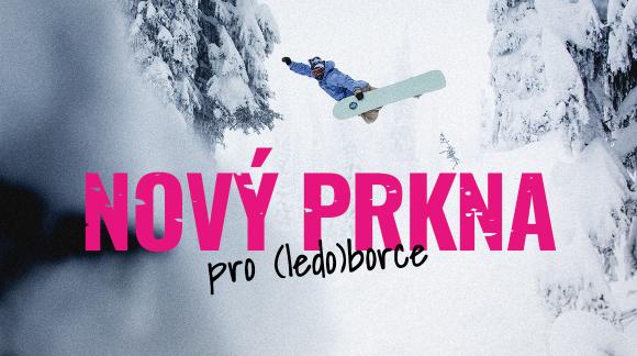 Nový snowboardy pro krále sněžný stopy