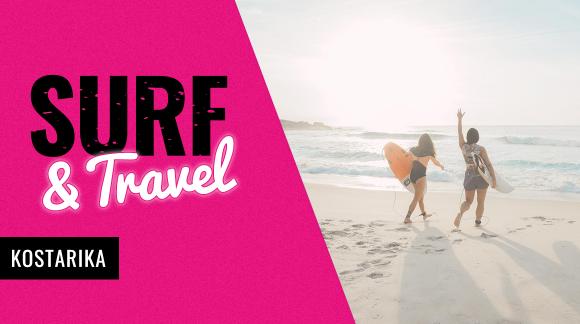 Pobřeží bohatý na vlny, slunce a zážitky: Dej si Surf & Travel na Kostarice + slevu 20 %