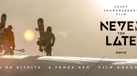 Podpořte unikátní český snowboardový film Never Too Late