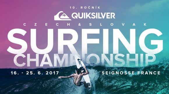 QUIKSILVER & ROXY CZECH AND SLOVAK SURFING CHAMPIONSHIP se blíží!