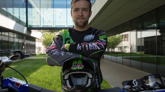 Roman Mňuk - motokros, motoskijoring