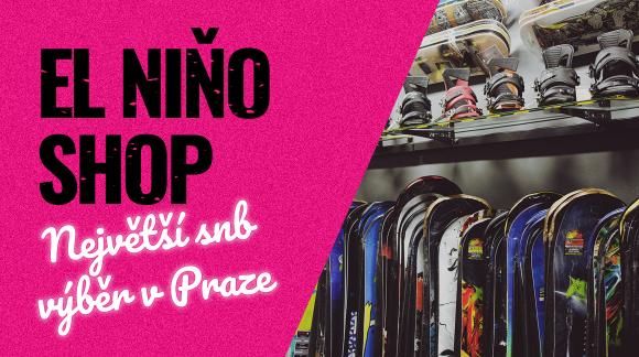 Snowboardy, kam se podíváš! Největší výběr najdeš v El Niňu