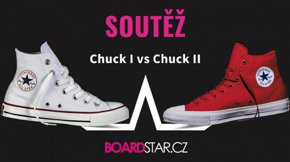 Soutěž Converse Chuck Taylor All Star I vs. II