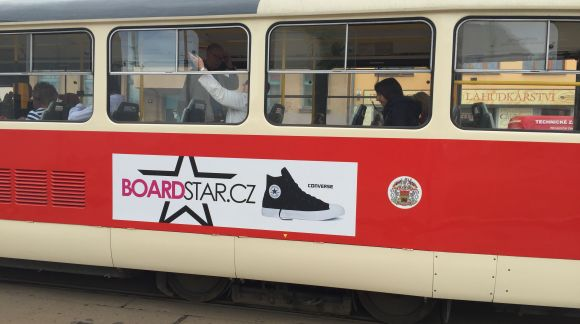 SOUTĚŽ s Boardstar tramvajemi
