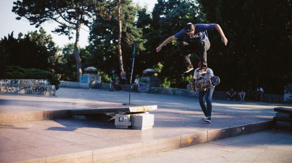 Štěpán Laštůvka - skateboarding