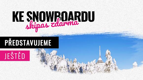 TOP 5 ski areálu Ještěd – Sjezdovka nad mrakama hodinu od Prahy