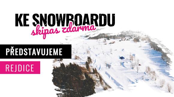 TOP 5 ski areálu Rejdice – U-rampa, 3 levely a vzduchovej polštář