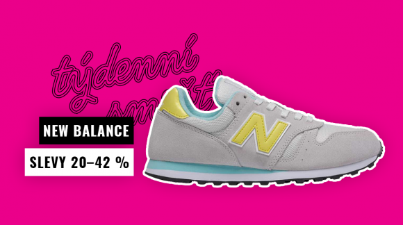 Týdenní smršť: Nezmeškej slevy na boty New Balance!