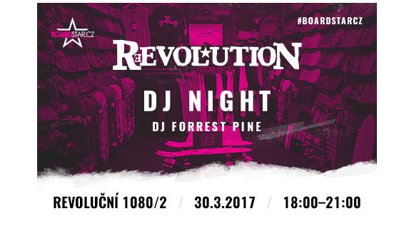 Už tento čtvrtek poprvé DJ Pine v Revolutionu!