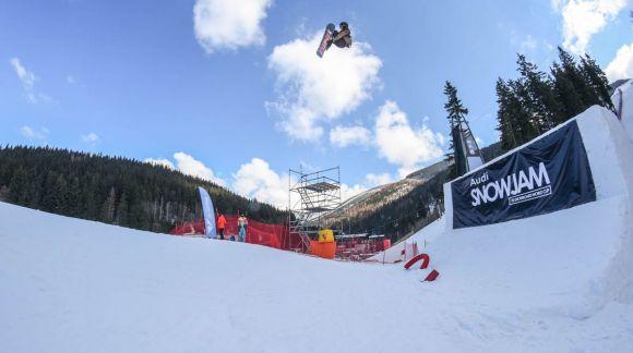 World Snowboard Tour aneb Snowjam ve Špindlu