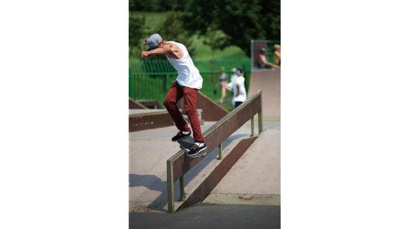 David Luu - skateboarding