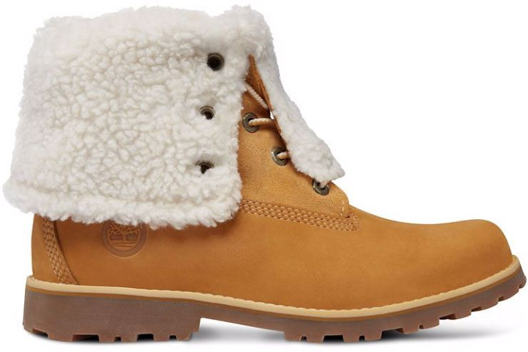 BOTY TIMBERLAND 6 IN WP SHEARLING JUNIOR - hnědá  9a1611262d1