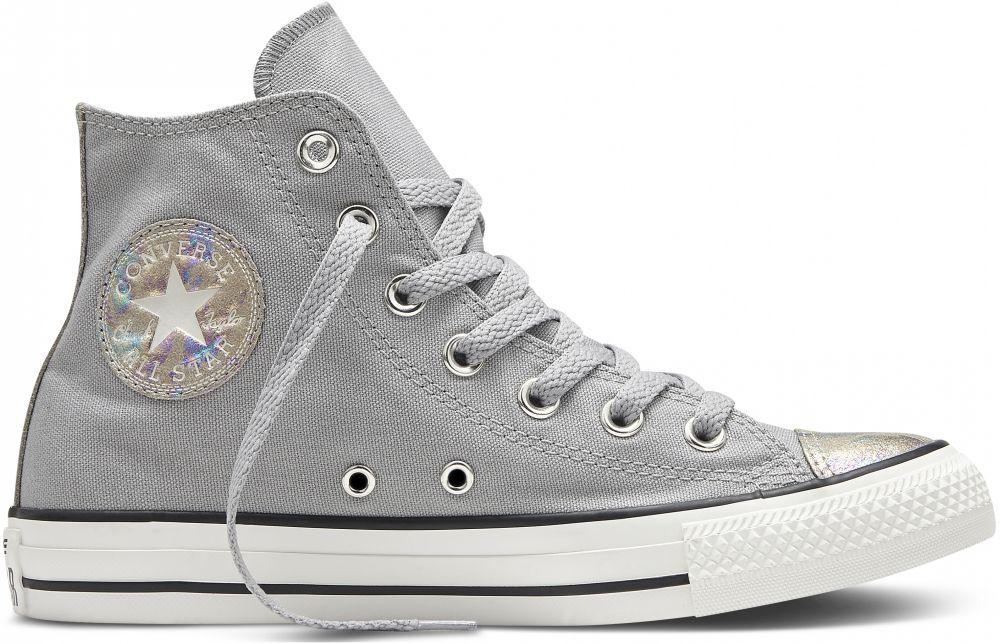 464d824391e BOTY CONVERSE Chuck Taylor All Star - světle šedá