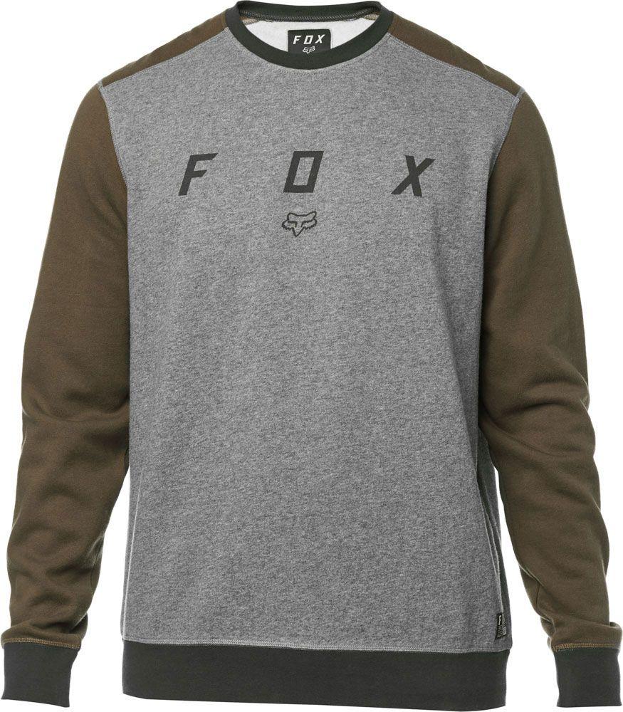 8f82bdb273 MIKINA FOX Destrakt Crew - šedá