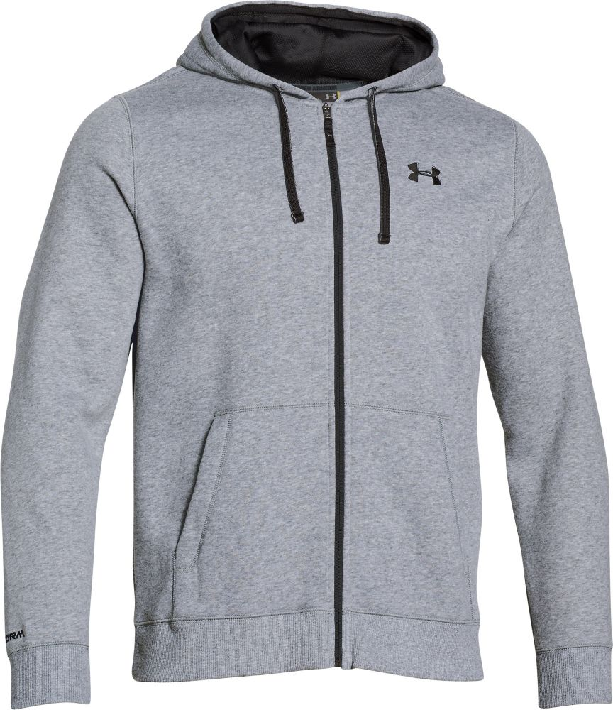 MIKINA UNDER ARMOUR CC STORM RIVAL FULL - šedá  7bc96d2b3d3